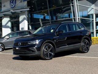 2021 Volkswagen Tiguan 5N MY21 110TSI Life DSG 2WD Black 6 Speed Sports Automatic Dual Clutch Wagon.