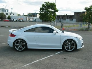 2012 Audi TT 8J MY11 RS White 7 Speed Auto Direct Shift Coupe