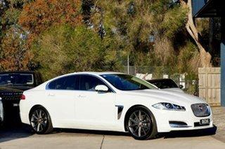 2015 Jaguar XF X250 MY15 Premium Luxury White 8 Speed Sports Automatic Sedan.