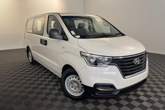 Used Hyundai iLOAD TQ4 MY19 Crew Cab Acacia Ridge, 2019 Hyundai iLOAD TQ4 MY19 Crew Cab White 5 speed Automatic Van