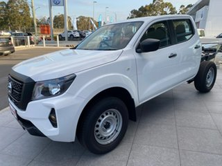 2021 Nissan Navara D23 MY21 SL Solid White 6 Speed Manual Cab Chassis
