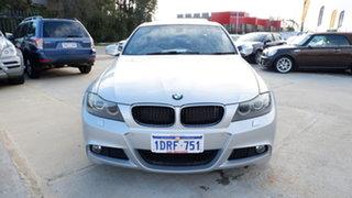 2011 BMW 3 Series E90 MY1011 320i Steptronic Lifestyle Silver 6 Speed Automatic Sedan.