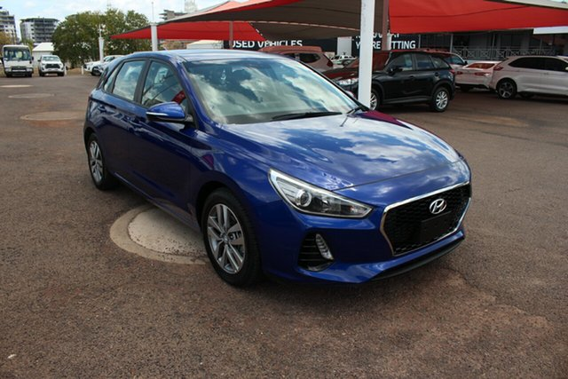 Pre-Owned Hyundai i30 PD2 MY19 Active Darwin, 2019 Hyundai i30 PD2 MY19 Active Blue 6 Speed Automatic Hatchback