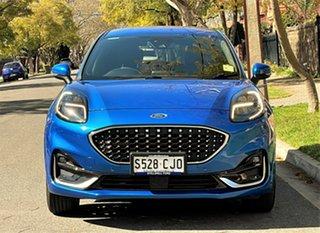 2021 Ford Puma JK 2021.25MY ST-Line V Blue 7 Speed Sports Automatic Dual Clutch Wagon.