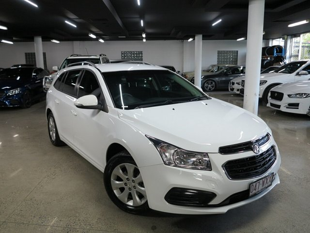 Used Holden Cruze JH Series II MY16 CD Sportwagon Albion, 2016 Holden Cruze JH Series II MY16 CD Sportwagon White 6 Speed Sports Automatic Wagon