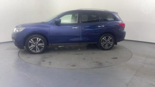 2019 Nissan Pathfinder R52 Series III MY19 Ti X-tronic 2WD Blue 1 Speed Constant Variable Wagon