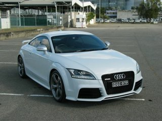 2012 Audi TT 8J MY11 RS White 7 Speed Auto Direct Shift Coupe.