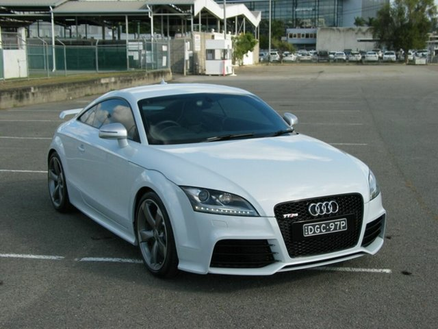 Used Audi TT 8J MY11 RS Albion, 2012 Audi TT 8J MY11 RS White 7 Speed Auto Direct Shift Coupe