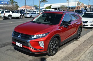 2018 Mitsubishi Eclipse Cross YA MY19 Black Edition (2WD) Red Continuous Variable Wagon
