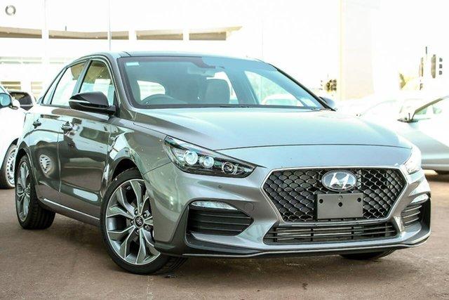 New Hyundai i30 PD.V4 MY21 N Line Premium Oakleigh, 2021 Hyundai i30 PD.V4 MY21 N Line Premium Silver 6 Speed Manual Hatchback
