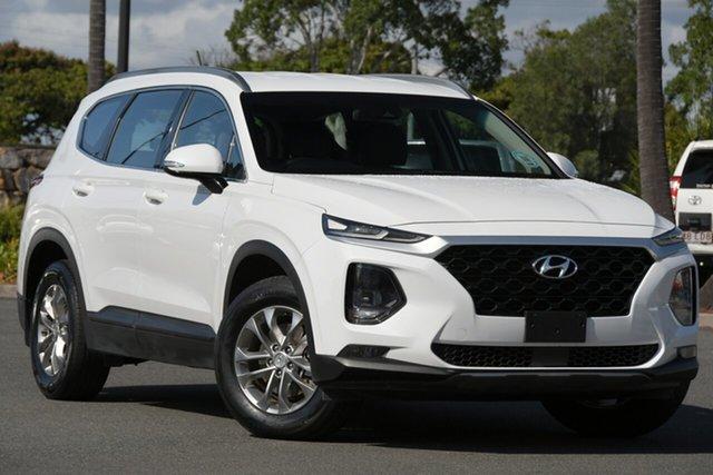 Used Hyundai Santa Fe DM5 MY18 Active North Lakes, 2018 Hyundai Santa Fe DM5 MY18 Active White 6 Speed Sports Automatic Wagon