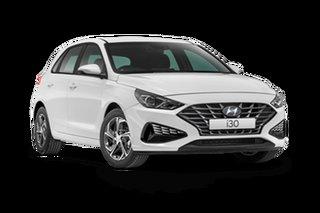 2021 Hyundai i30 PD.V4 Polar White 6 Speed Automatic Hatchback