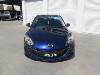 2011 Mazda 3 BL10F1 MY10 Neo Activematic Blue 5 Speed Sports Automatic Sedan.