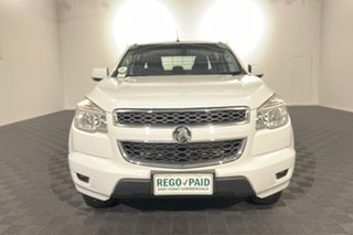 2015 Holden Colorado RG MY15 LS Crew Cab 4x2 White 6 speed Automatic Cab Chassis.