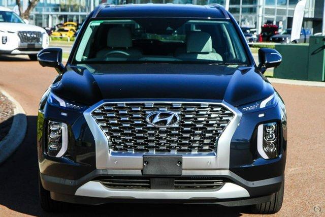 New Hyundai Palisade LX2.V1 MY21 Highlander AWD Oakleigh, 2021 Hyundai Palisade LX2.V1 MY21 Highlander AWD Blue 8 Speed Sports Automatic Wagon