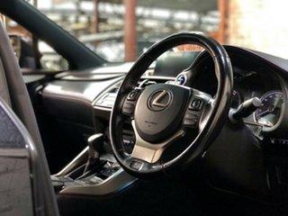 2017 Lexus NX AYZ15R NX300h E-CVT AWD F Sport Black 6 Speed Constant Variable Wagon Hybrid