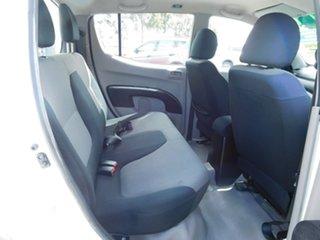 2010 Mitsubishi Triton MN MY10 GLX Double Cab White 5 Speed Manual Utility