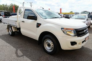 2014 Ford Ranger White 6 Speed Manual Double Cab.