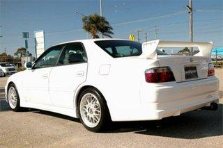 2000 Toyota Chaser JZX100 Tourer V White 4 Speed Automatic Sedan