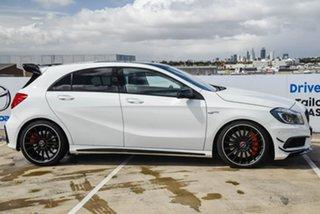 2013 Mercedes-Benz A-Class W176 A45 AMG SPEEDSHIFT DCT 4MATIC White 7 Speed.