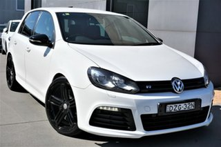2012 Volkswagen Golf VI MY12.5 R DSG 4MOTION White 6 Speed Sports Automatic Dual Clutch Hatchback.