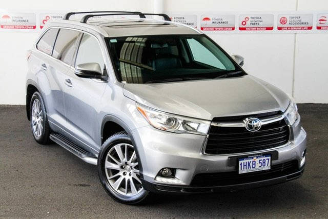 Pre-Owned Toyota Kluger GSU55R Grande (4x4) Rockingham, 2014 Toyota Kluger GSU55R Grande (4x4) Silver Sky 6 Speed Automatic Wagon