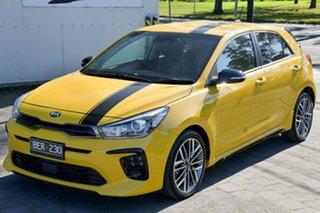 2019 Kia Rio YB MY19 GT-Line DCT Yellow 7 Speed Sports Automatic Dual Clutch Hatchback