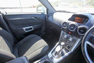 2011 Holden Captiva CG Series II 7 SX Silver 6 Speed Automatic Wagon.