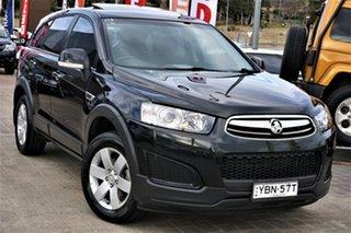 2014 Holden Captiva CG MY14 7 LS Black 6 Speed Sports Automatic Wagon.