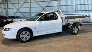 2003 Holden One Tonner VY S White 4 Speed Automatic Cab Chassis.