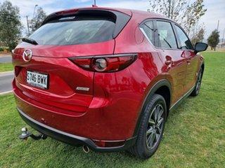 2018 Mazda CX-5 KF4WLA GT SKYACTIV-Drive i-ACTIV AWD Red 6 Speed Sports Automatic Wagon.