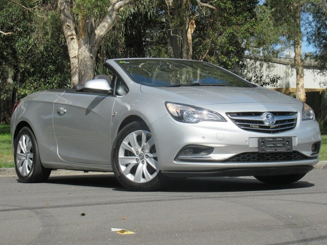 Used Holden Cascada CJ MY15.5 , 2015 Holden Cascada CJ MY15.5 Silver 6 Speed Sports Automatic Convertible