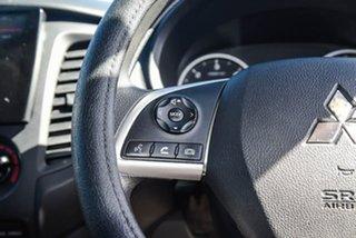 2015 Mitsubishi Triton MQ MY16 GLX 4x2 White 5 Speed Sports Automatic Cab Chassis