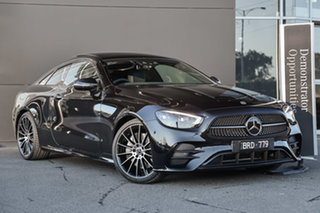 2021 Mercedes-Benz E-Class C238 801+051MY E350 9G-Tronic Obsidian Black 9 Speed Sports Automatic.