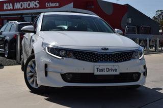 2017 Kia Optima JF MY17 SI White 6 Speed Sports Automatic Sedan.
