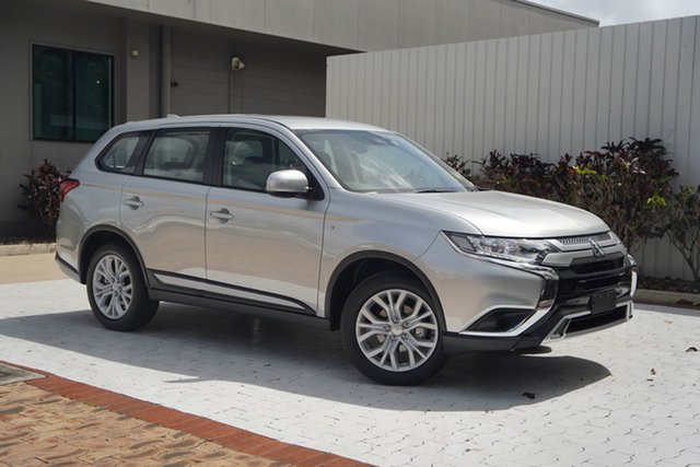 New Mitsubishi Outlander ZL MY21 ES AWD Cairns, 2021 Mitsubishi Outlander ZL MY21 ES AWD Sterling Silver 6 Speed Constant Variable Wagon