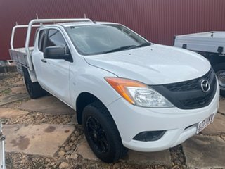2014 Mazda BT-50 UP0YF1 XT Freestyle 4x2 Hi-Rider 6 Speed Manual Cab Chassis