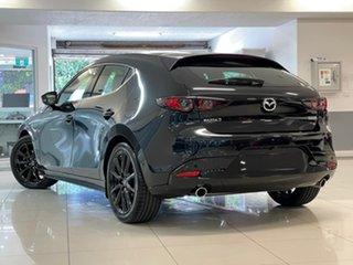 2021 Mazda 3 BP2HLA G25 SKYACTIV-Drive Astina Black 6 Speed Sports Automatic Hatchback