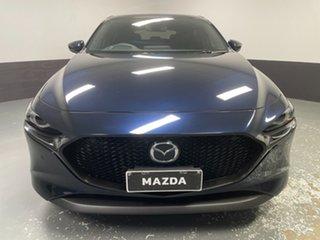 2019 Mazda 3 BP2HLA G25 SKYACTIV-Drive Astina Blue 6 Speed Sports Automatic Hatchback.