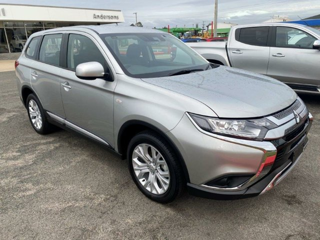 New Mitsubishi Outlander ZL MY21 ES AWD Gladstone, 2021 Mitsubishi Outlander ZL MY21 ES AWD Sterling Silver 6 Speed Constant Variable Wagon