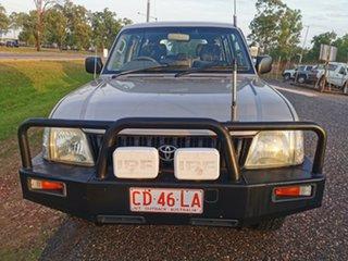2002 Toyota Landcruiser Prado VZJ95R RV6 Gold 5 Speed Manual Wagon.