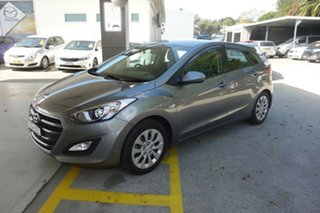2016 Hyundai i30 GD4 Series II MY17 Active Silver 6 Speed Sports Automatic Hatchback.