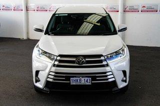 2019 Toyota Kluger GSU55R GX AWD Crystal Pearl 8 Speed Sports Automatic Wagon.