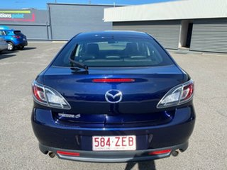 2011 Mazda 6 GH1052 MY12 Touring Blue 5 Speed Sports Automatic Hatchback