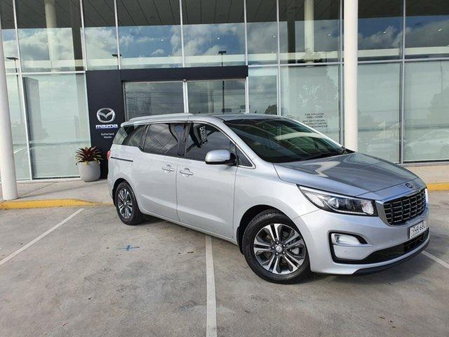 Used Kia Carnival YP MY20 SLi Kirrawee, 2020 Kia Carnival YP MY20 SLi White 8 Speed Sports Automatic Wagon