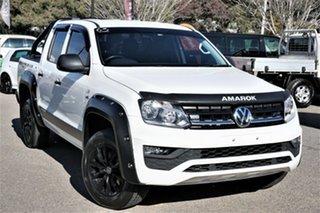 2020 Volkswagen Amarok 2H MY20 TDI550 4MOTION Perm Core White 8 Speed Automatic Utility.