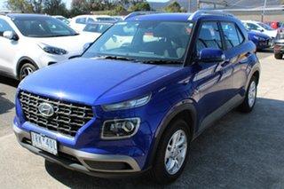 2020 Hyundai Venue QX MY20 Active Blue 6 Speed Automatic Wagon.