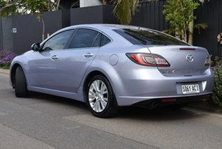 2008 Mazda 6 GH1051 Classic Silver 6 Speed Manual Hatchback.