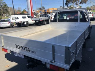 2010 Toyota Hilux TGN16R MY11 Upgrade Workmate Ink 5 Speed Manual Cab Chassis