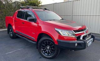 2016 Holden Colorado RG MY16 Z71 Crew Cab Absolute Red 6 Speed Sports Automatic Utility.